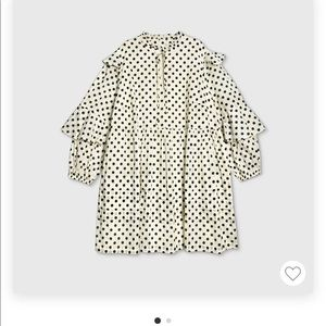 NWT Who What Where Plus Size Polkadot Dress
